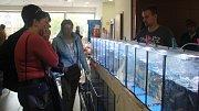 Prodejní burza Aquatera Olomouc na výstavišti Flora.