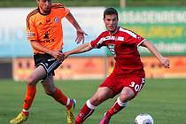 Ordoš v souboji s Drazanem z 1. FC Kaiserslautern