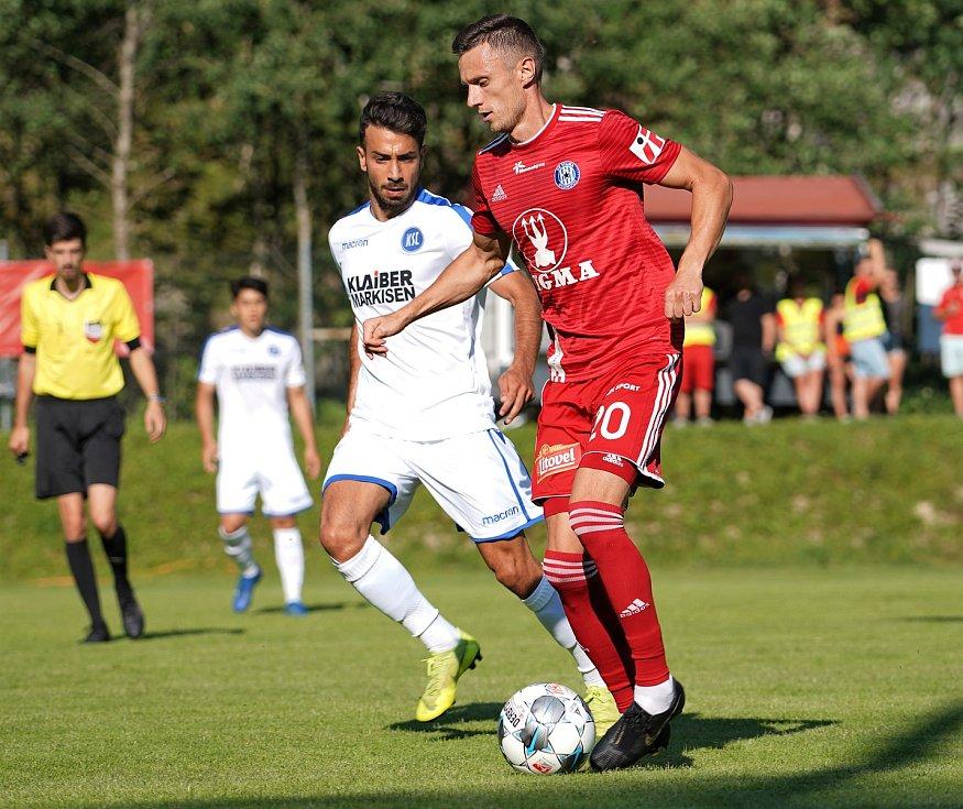 Sigma remizovala v přípravném utkání v rakouském Waidringu s německým Karlsruhe 1:1.Šimon Falta