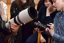 Studium oboru fotografie. Ilustrační foto