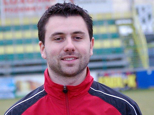 Trenér HFK Olomouc Tomáš Uličný
