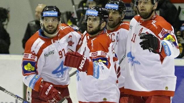 Olomoučtí hokejisté. Ilustrační foto