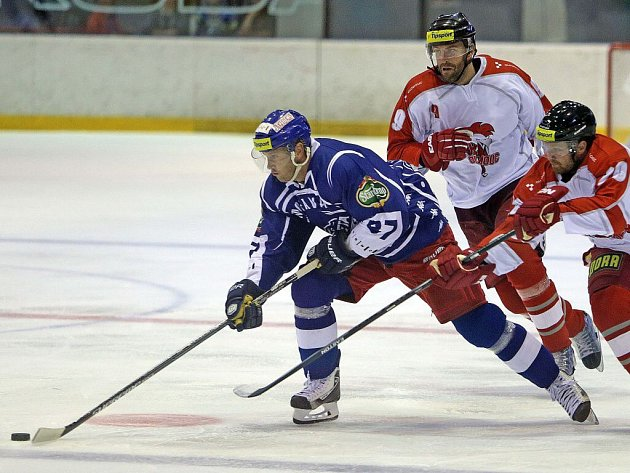 Přípravný zápas HC Olomouc vs. Kometa Brno