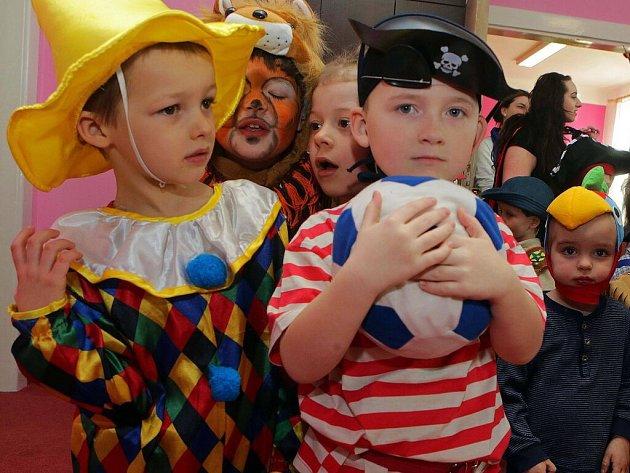Pohádkový karneval ve školce Michalské stromořadí v Olomouci