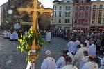 Procesí ke Svátku Božího těla v Olomouci