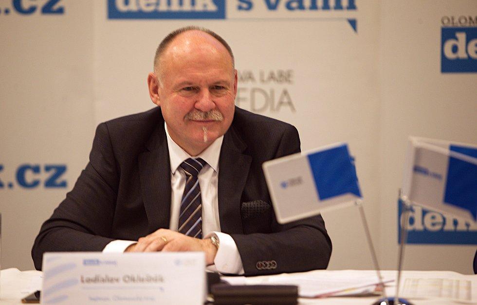 olomoucký hejtman Ladislav Okleštěk