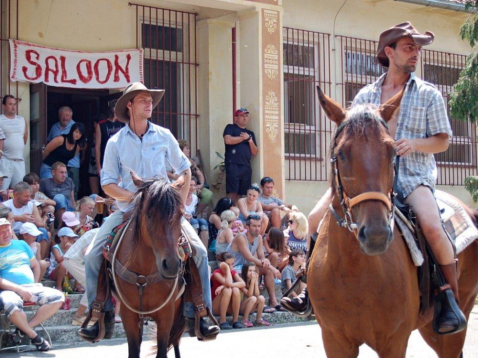 Westernové ježdění. Ilustrační foto
