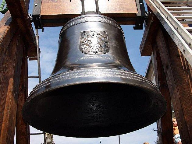 Zvon na Horním náměstí. Ilustrační foto
