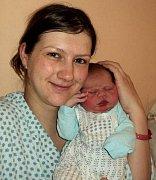 David Janů, Šternberk, narozen 20. prosince ve Šternberku, míra 52 cm, váha 3770 g.