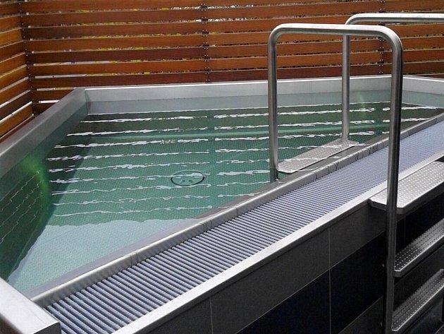 Olomoucký aquapark otevřel na terase ve druhém patře novou saunu, která rozšiřuje dosavadní wellness zónu. Investice přišla na 5,3milionu korun