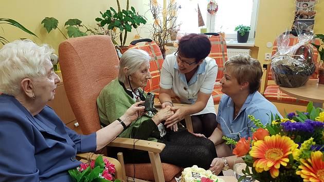 Už sto sedmé narozeniny v pátek oslaví Marta Musilová, která je tak nejstarší obyvatelkou krajského města a zároveň i Olomouckého kraje.