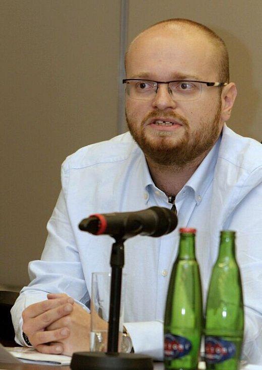 Tomáš Helísek ze spolku Trend vozíčkářů