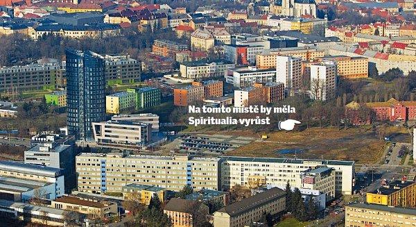 Nová věž snázvem Spiritualia se začne vblízkosti olomouckého hlavního nádraží stavět ještě letos. Vbudoucnu bude součástí celého kampusu Moravské vysoké školy, která sídlí vBEA centru.