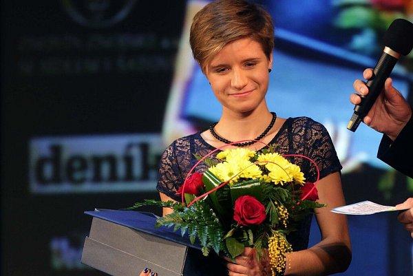 Tereza Janošíková. Vyhlášení Sportovce Olomouckého kraje za rok 2015