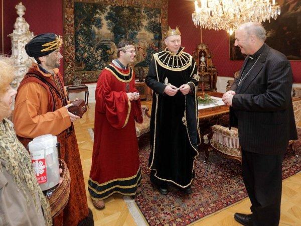 Tři králové uolomouckého arcibiskupa Graubnera