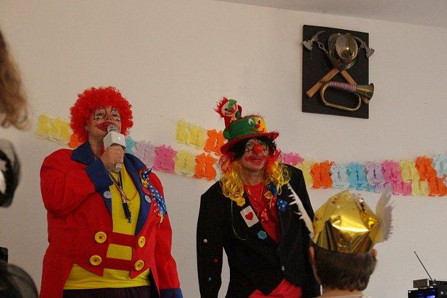 klaunská show