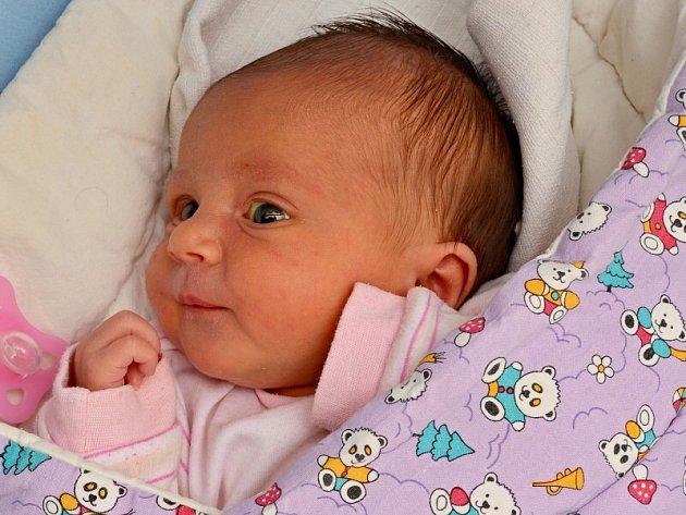 Klára Laštůvková, Olomouc, narozena 8. prosince v Olomouci, míra 51 cm, váha 3160 g