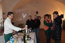Kuchař Pavel Duda v akci