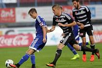 Fotbalová národní liga Sigma - České Budějovice  Sigma vyhrála 1:0