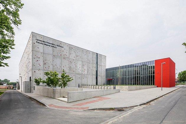Kampus Fakulty tělesné kultury UP volomoucké části Neředín - celkový pohled