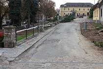 Rekonstrukce náměstíčka v Bouzově