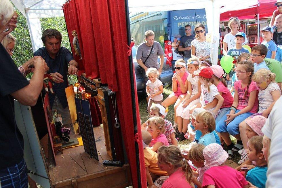 Akce Jeden dětský den nestačí v lanovém centru v Olomouci