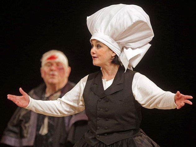Komedie Rozbitý džbán Moravského divadla Olomouc
