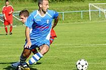 Václav Kratochvíl. Fotbalisté Šternberka proti Litovli