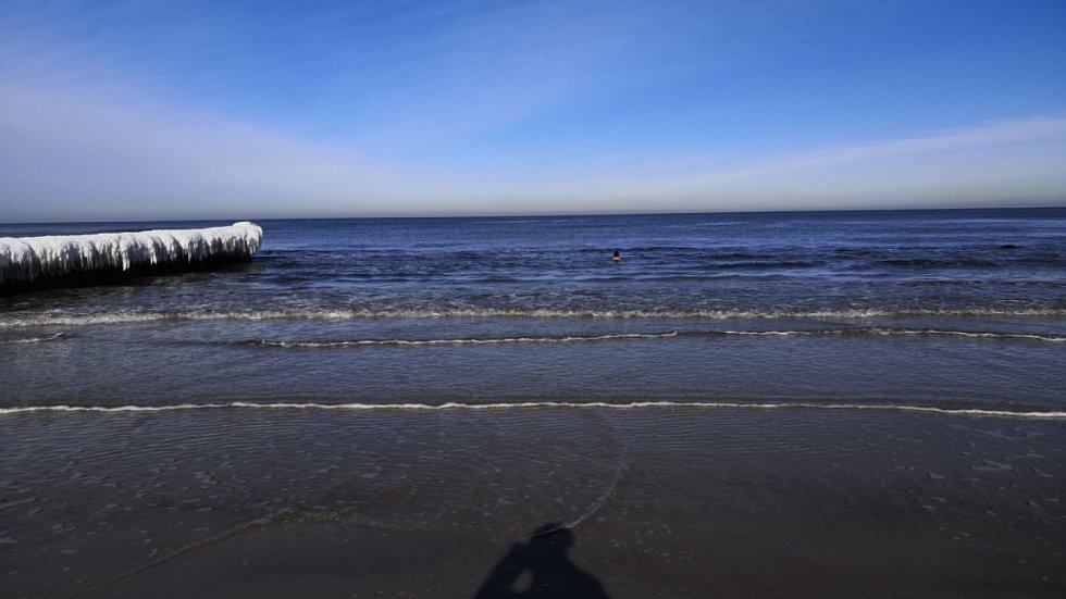 Únorové moře v Polsku