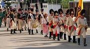 Olmütz 1813. Pochod vojsk z napoleonských časů městem