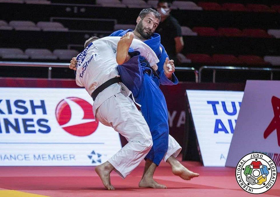 David Klammert vybojoval na turnaji Grand Slam v Turecku bronzovou medaili.