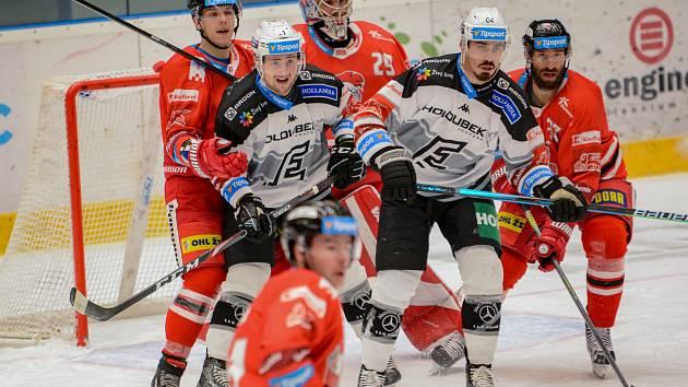 Olomoučtí hokejisté doma nestačili na Karlovy Vary.