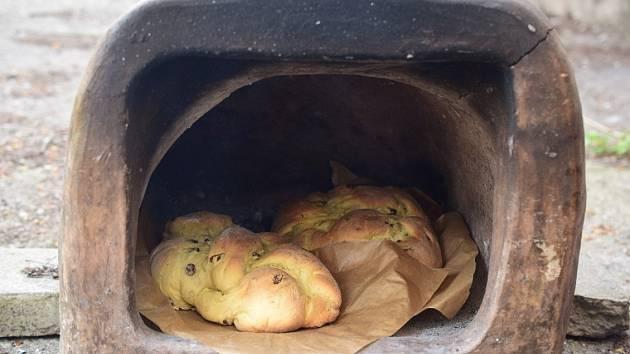 Kamenná pec na chleba