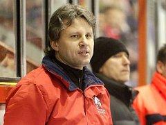Majitel HC Olomouc a asistent trenéra Jan Tomajko