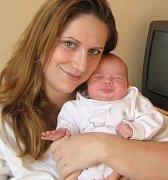 Tereza Konečná, Olomouc, narozena 14. února v Olomouci, míra 52 cm, váha 3810 g