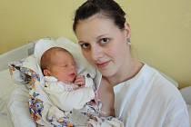 Viktorie Sojková, Mezice, narozena 22. března v Olomouci, míra 51 cm, váha 3470 g.