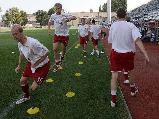 Fotbalisté Aberdeen FC trénovali na Andrově stadionu