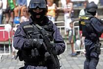Den policie na olomouckém Horním náměstí