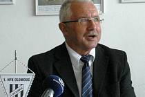Šéf 1. HFK Olomouc Vladimír Dostál