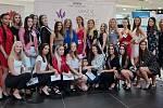 Casting Miss OK 2020, soutěže krásy pro studentky středních škol v olomouckém OC Šantovka