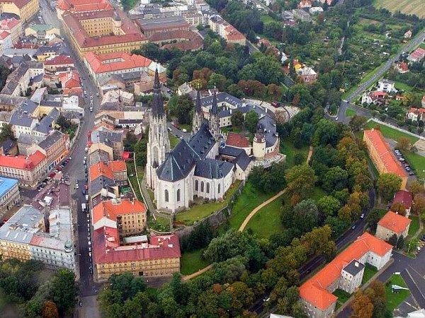 Dómské návrší skatedrálou sv. Václava