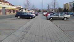 Parkoviště u nádraží Olomouc - Nová Ulice