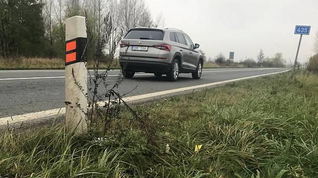 Silnice 435 mezi Olomoucí a Tovačovem. Ilustrační foto