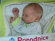 Kilián Kořístka, Troubelice, narozen 6. července, míra 51 cm, váha 3560 g