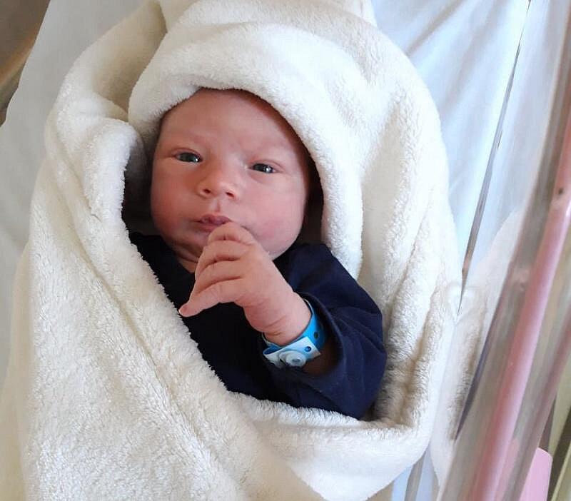 Lukáš Krůpa, Pňovice, narozen 16. srpna, 50 cm, váha 3550