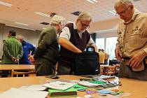 Sběratelé a příznivci skautingu se v sobotu 2. listopadu sešli v prostorách Právnické fakulty Univerzity Palackého v Olomouci.