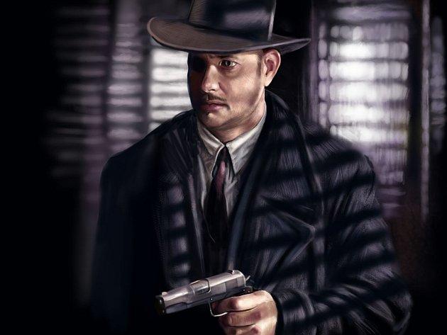 Detektiv jako namalovaný.