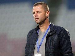 Olomoucká fotbalová ikona, nyní trenér Znojma Radim Kučera