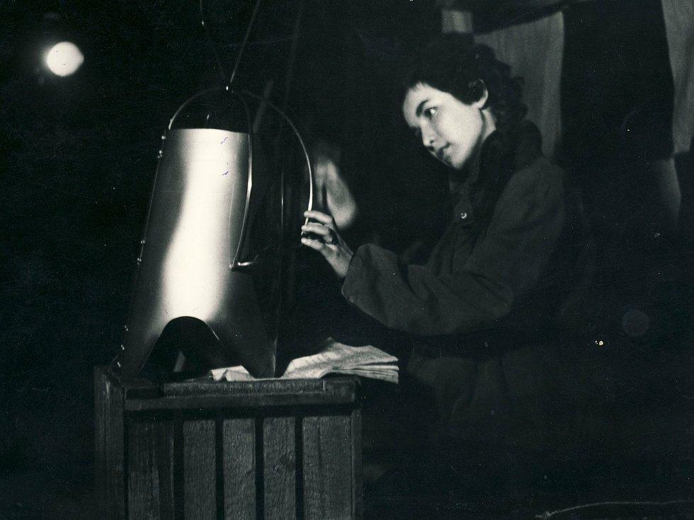 Hana Maciuchová ve Studiu při Divadle Oldřicha Stibora