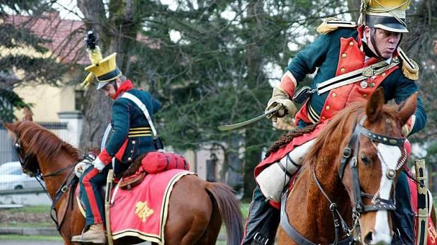 Bitva z napoleonských válek na zámku v Náměšti na Hané